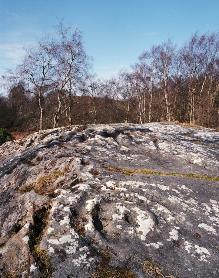 2011-3-17, RZ67, Portra 160, Roughting Linn rocks, 2