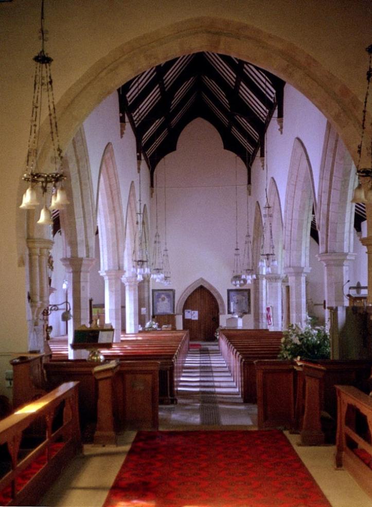 Stamfordham Church (Fuji Superia)