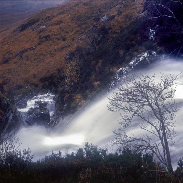 2011-11-13, Yashicamat, Velvia 50, Loch Affric 4