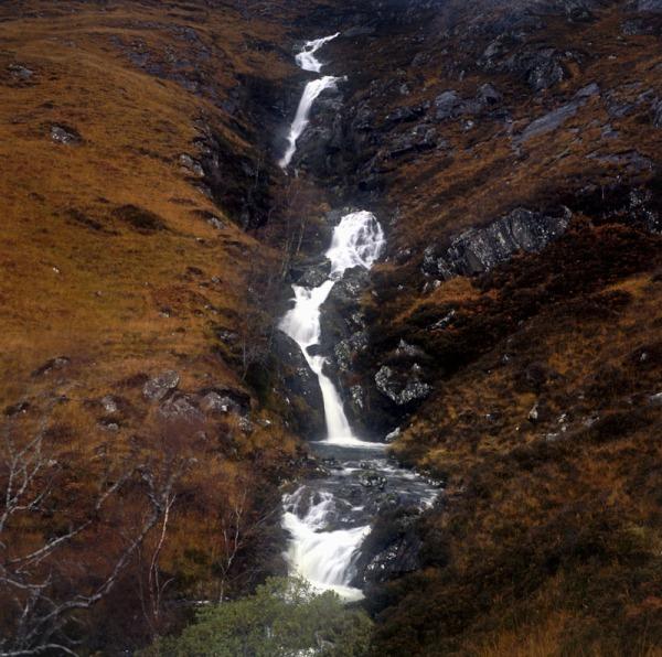 2011-11-13, Yashicamat, Velvia 50, Loch Affric 6