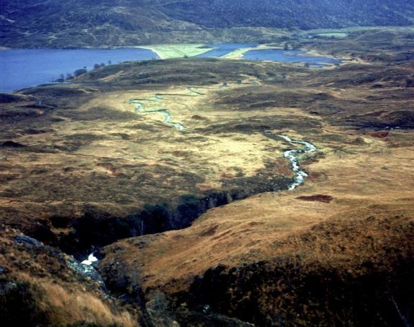 2011-11-13, Yashicamat, Velvia 50, Loch Affric 7