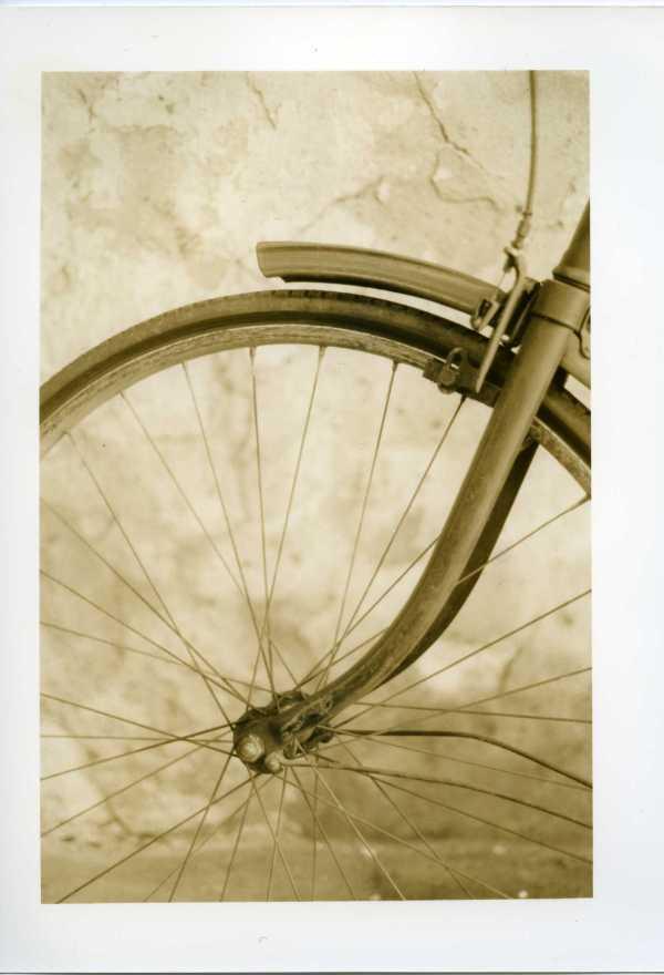Print Scan, bike wheel, TMax100, Sepia, 002