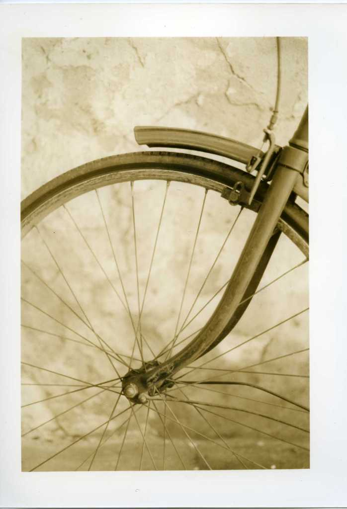 Print Scan, bike wheel, TMax100, Sepia, 002