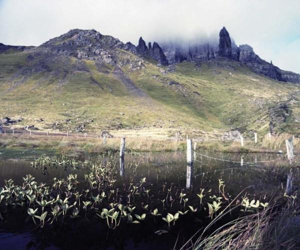The resulting image on Kodak Portra 160 film