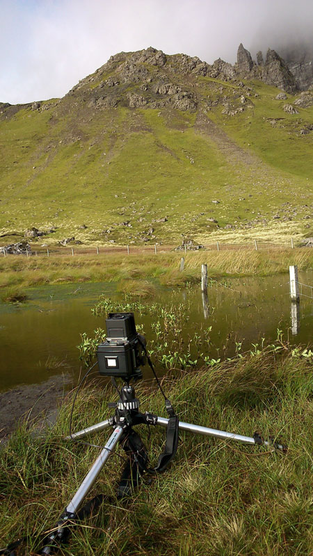 At the Storr with the RZ67