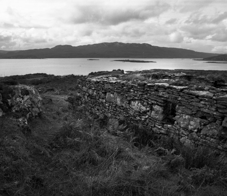 Boreraig - Mamiya RZ67 and Kodak TMax 100 film, developed in Kodak TMax developer