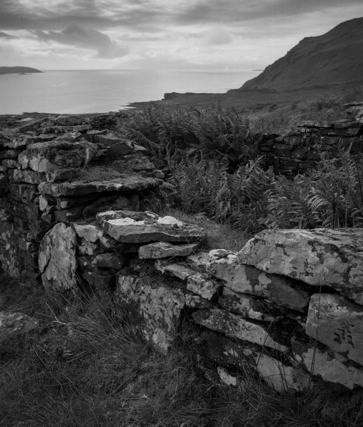 An Abandoned Crofting Village On Skye