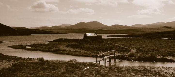 Fishermens' hut, Isle of Lewis