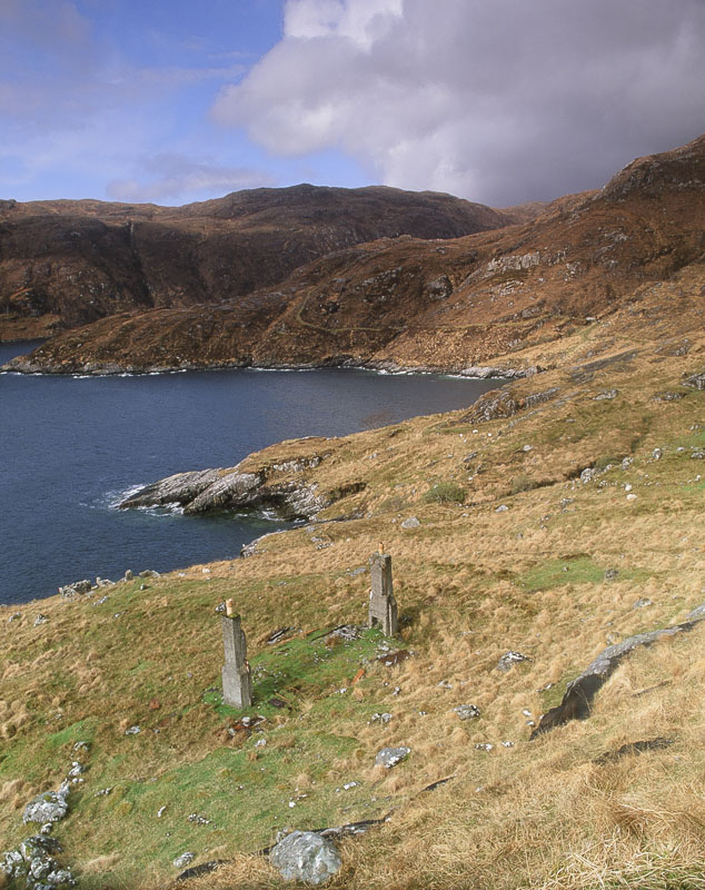 Abandoned village near Rhenigidale