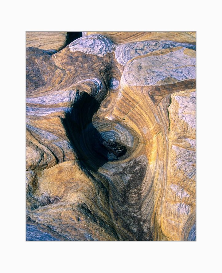 RZ67, Velvia 50, Spittal Rocks, 6-border