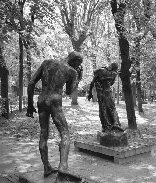 In the grounds of the Rodin Museum, Paris