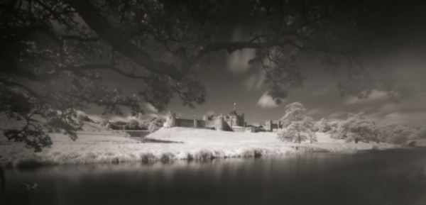 Alnwick Castle pinhole + infrared