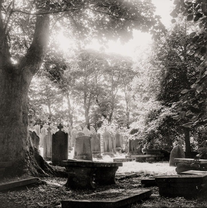 Howarth Cemetery, adjacent to the Bronte Museum